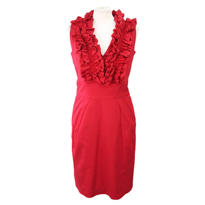 Ted Baker Red dress with frills