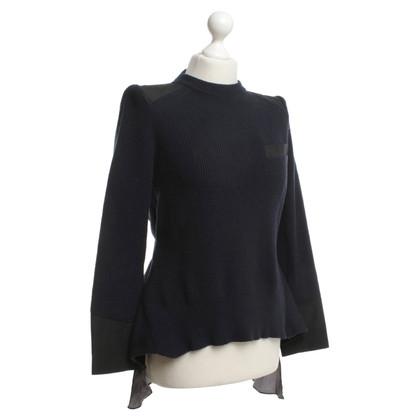Other Designer Sacai - Sweater in dark blue