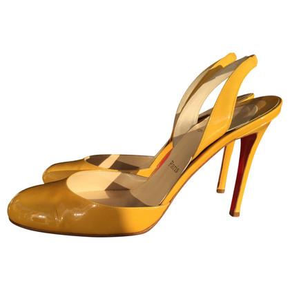 Christian Louboutin Slingback-High Heels
