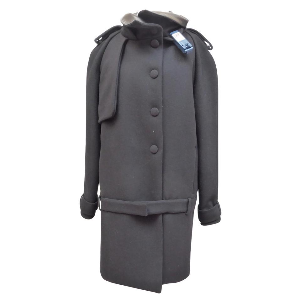 Givenchy jas met lederen bekleding koop tweedehands givenchy jas met lederen bekleding voor 1 - Lederen bekleding ...