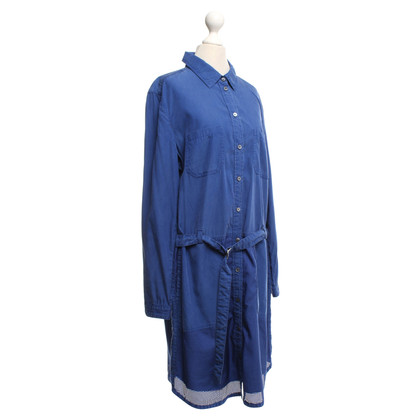 Marc Cain Blouses Dress in Blue