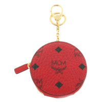"MCM ""Color Visetos Zip Coin Charm Ruby Red"""