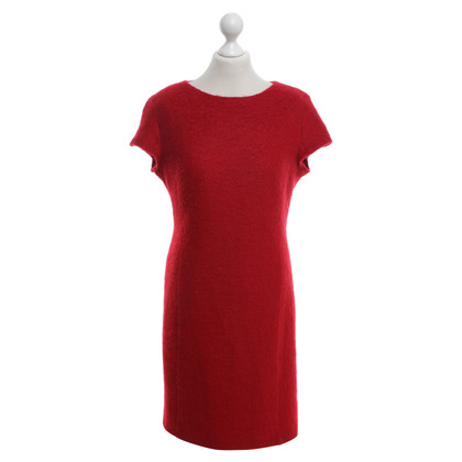 Barbara Schwarzer Kleid in Rot