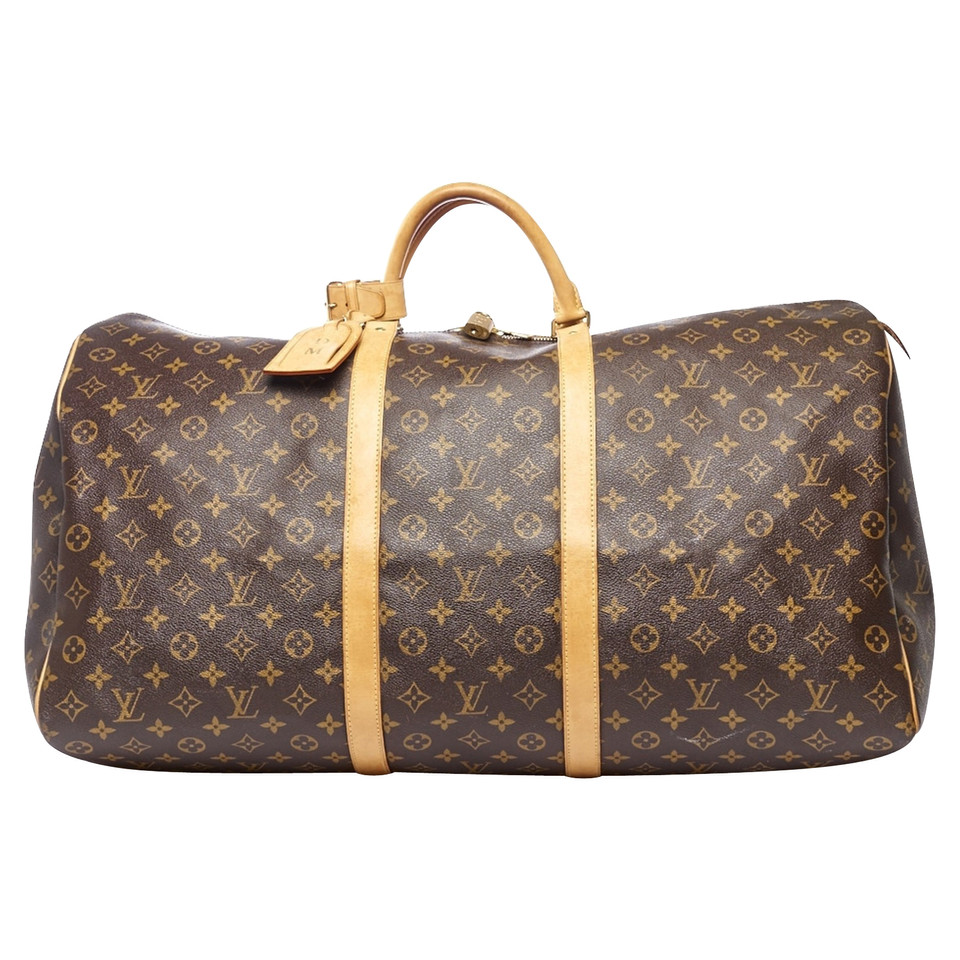 louis vuitton keepall 60 monogram canvas second hand louis vuitton keepall 60 monogram. Black Bedroom Furniture Sets. Home Design Ideas