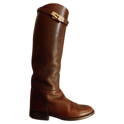 Hermès Stiefel in Braun