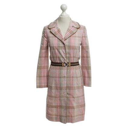 Dorothee Schumacher Coat with check pattern