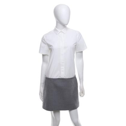 Club Monaco Robe d'affaires en blanc / gris