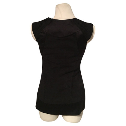 Diane von Furstenberg Black Silk Top