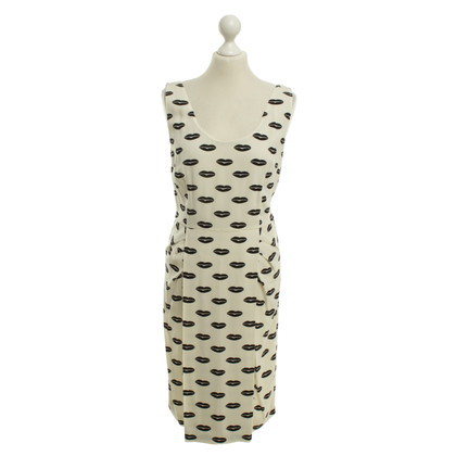 Prada Dress with lip print
