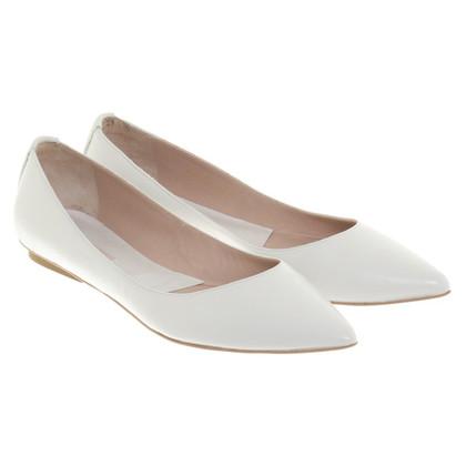 Pura Lopez Ballerinas in beige