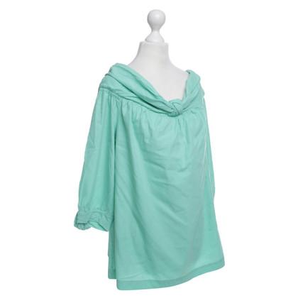 Escada -Mint gekleurde blouse