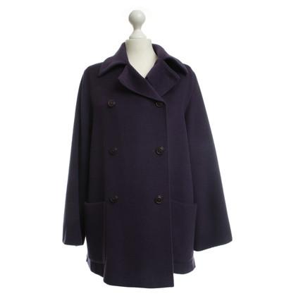 Max Mara Coat in purple