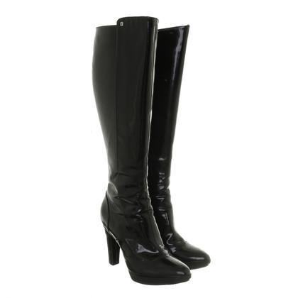 Fendi Boots patent leather