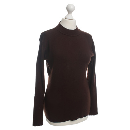 Yves Saint Laurent Pullover in maglia marrone
