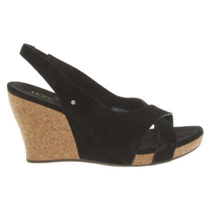 UGG Australia Wedges in Black