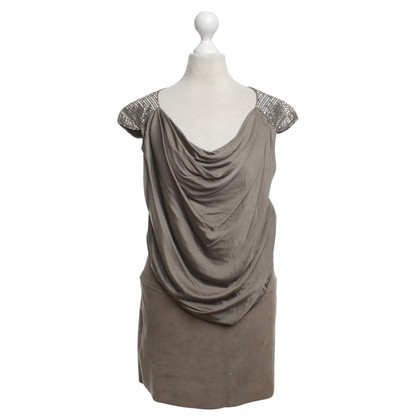Jitrois Dress in Taupe