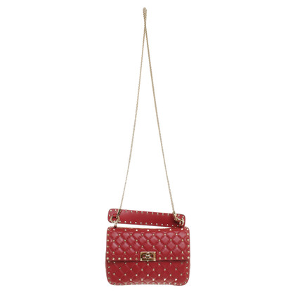 Valentino 'Rockstud Spike' 'in red