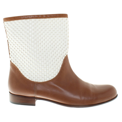 Pollini Ankle boots in light brown
