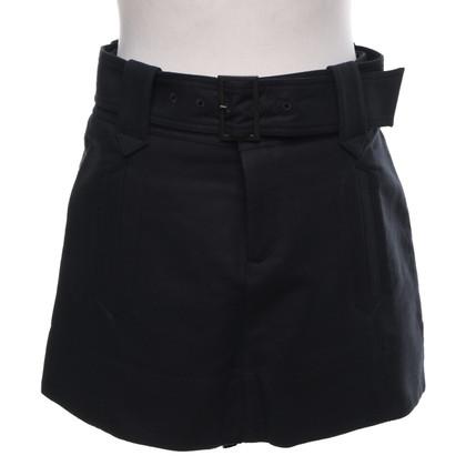 Comptoir des Cotonniers Mini jupe en noir