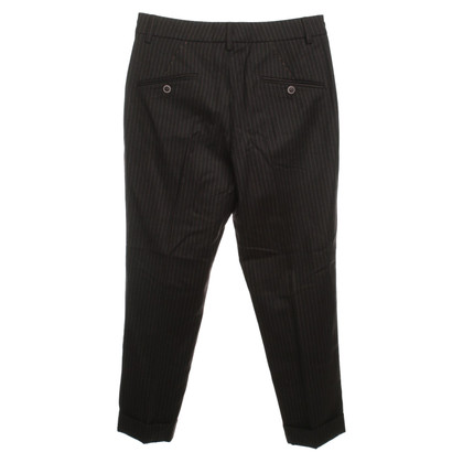 Gunex Pinstripe pants in Brown