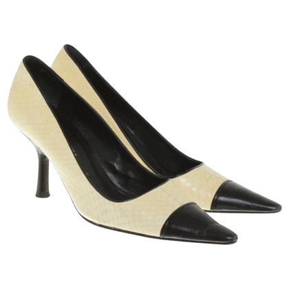 Chanel pumps slangenhuid