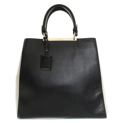 Jil Sander Handbag in Black / Beige