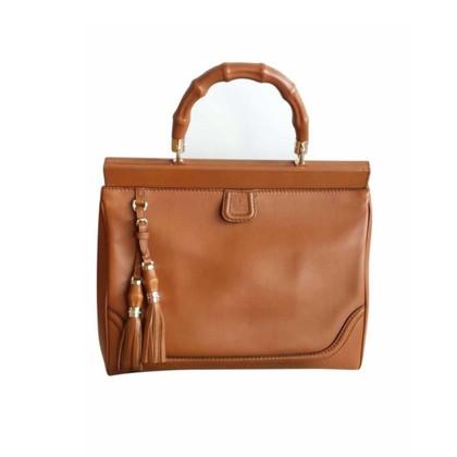 Gucci Bold bamboo Cognac handbag