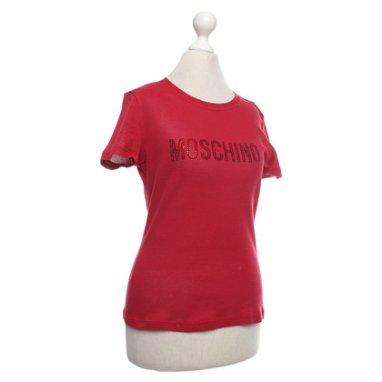 Moschino Oberteil in Rot