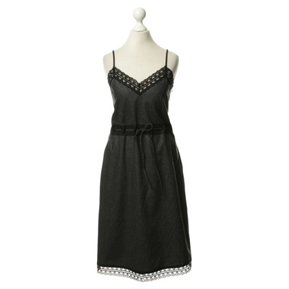 Armani Jeans Wool dress with lace