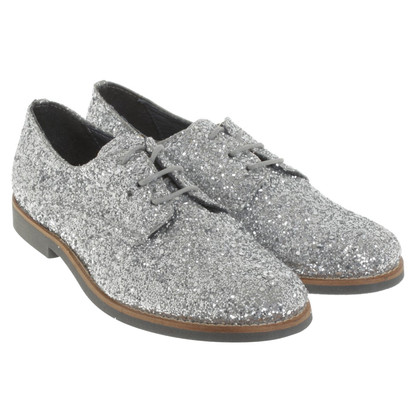 Kurt Geiger Veterschoenen in Glitter Look
