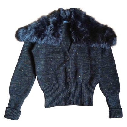 Prada Jacket with large fur collar