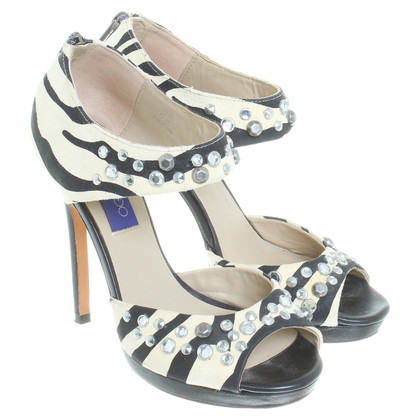 Jimmy Choo for H&M Sandalen in Zebra-look