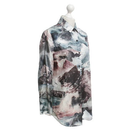 Carven Blouse with motif