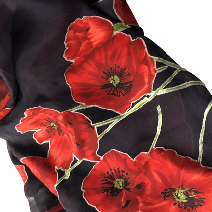 Dolce & Gabbana silk scarf with a floral pattern