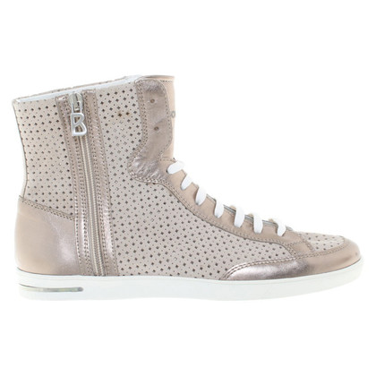 Bogner Hightop sneakers with hole pattern