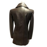 Chanel Veste en cuir de chevreau