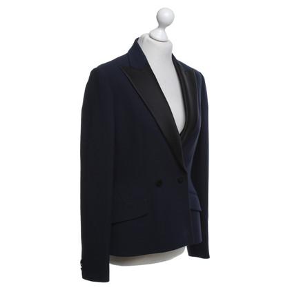Christian Dior Blazer in Blau/Schwarz
