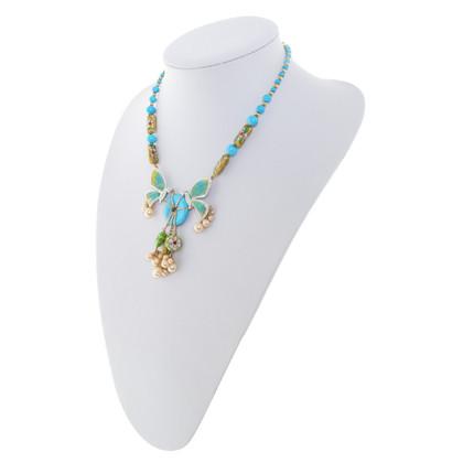 Christian Dior Catena con gioielli di perle
