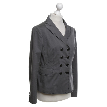 Moschino Cheap and Chic Blazer in Grau/Schwarz