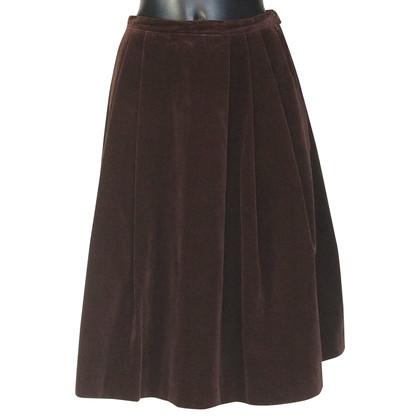 Max Mara velvet skirt