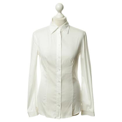 Prada Klassieke blouse wit