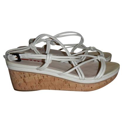 Prada wedges sandals