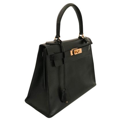 """Hermès """"Kelly Bag 28"""" gemaakt van hagedisleer"""