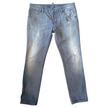 Dsquared2 Grijze jeans