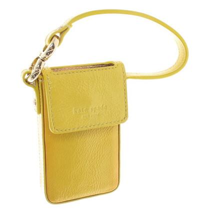 Kate Spade Handy-Anhänger in Gelb