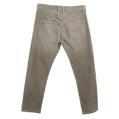 Current Elliott pantaloni di velluto in grigio