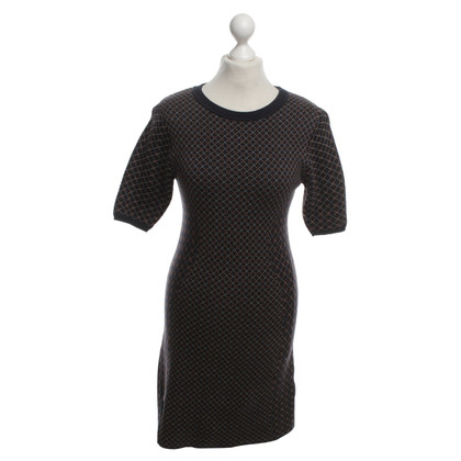 Acne Patterned Knit Dress