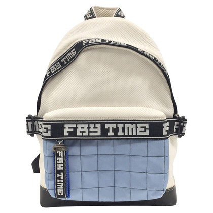 Fay White backpack