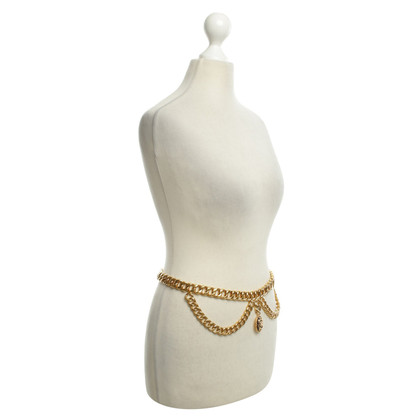Chanel Link chain belt gold colored