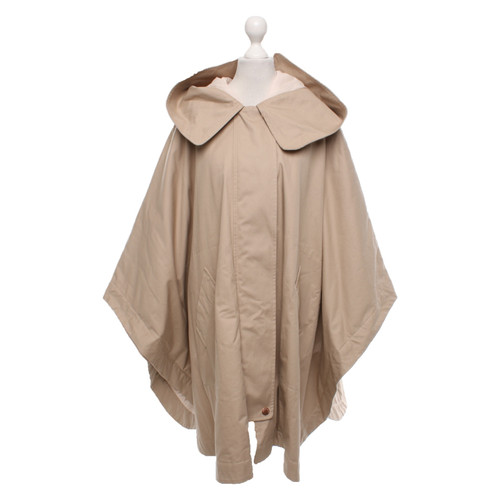 e7c7b248fc See by Chloé Jacket/Coat Cotton in Beige - Second Hand See by Chloé ...